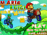 Mario and Luigi Bike Game  - Juegos de Motos