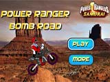 Power Rangers Bomb Road
