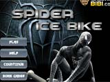 Juegos de motos: Spiderman Ice Bike  -