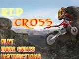 Juegos de Motos: Red Cross Bike  -